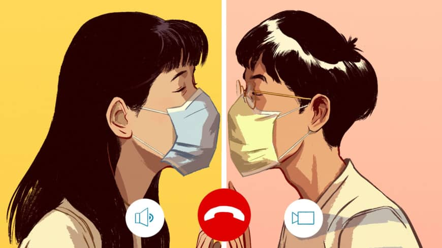 Romancing the phone: Japan navigates love in the time of coronavirus