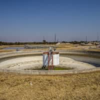 A sewer treatment pool in Bulawayo, Zimbabwe. Experts in the field — known as wastewater epidemiology — say that as countries begin to ease pandemic lockdown restrictions, searching sewage for signs of the SARS-CoV-2 coronavirus could help them monitor and respond to flare-ups. | BLOOMBERG