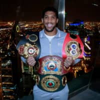 Anthony Joshua will have only one fight this year, says promoter