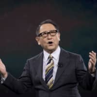 Akio Toyoda, president and chief executive officer of Toyota Motor Corp., said that during past crises the company cut costs and investments and grew substantially leaner, but 'lost necessary muscle.' | BLOOMBERG