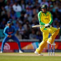 Australia's Usman Khawaja plays against India during the ICC Cricket World Cup in London on June 9, 2019. Cricket has not been played in the Summer Olympics since 1900. | ACTION IMAGES / VIA REUTERS