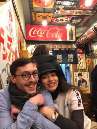 David Kvien, a Tokyoite who traveled to Denmark in March to say goodbye to his late father, is unable to return home due to Japan's border control measures. His girlfriend, an architect, helped him move out of his apartment, the contact for which expired at the end of March, to avoid potential difficulties with his landlord during his absence. | COURTESY OF DAVID KVIEN