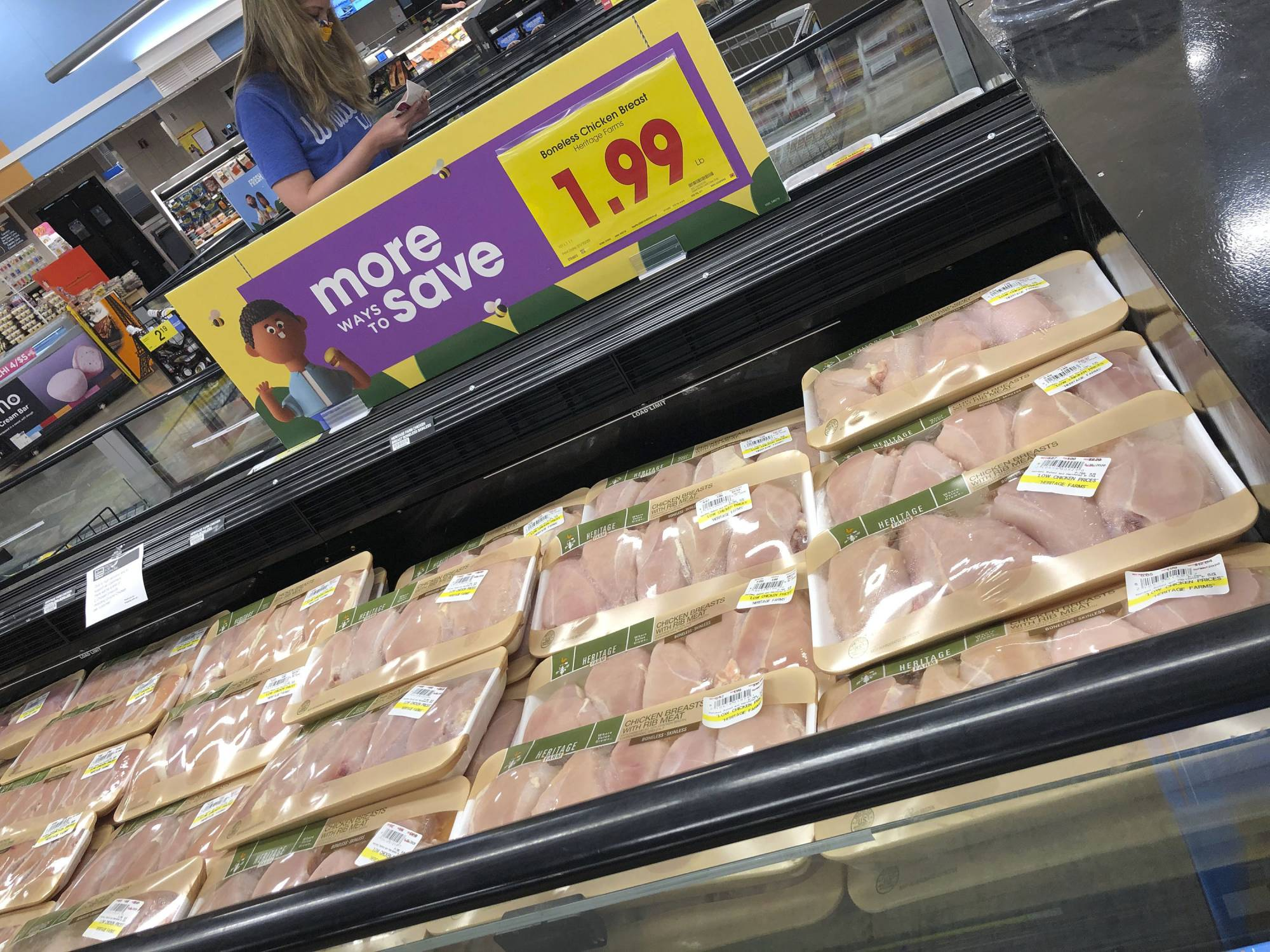 The U.S. supply chain for meat has run into problems because of the new coronavirus, causing shortages in some parts of the country. | AP