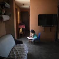 The struggles of homeschooling in the world's tiniest apartments