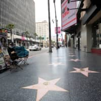 Hollywood Blvd. in Los Angeles on Monday  | REUTERS