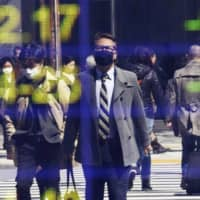 Japan's economic growth plunged into recession in the first quarter as the coronavirus pandemic squelched production, exports and spending, and fears are growing worse times may lie ahead, according to a report on Monday. | AP