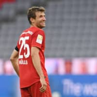Thomas Mueller expects sparks to fly during Bayern-Dortmund showdown