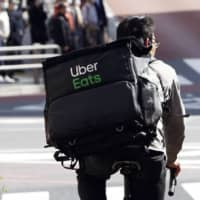 Uber Eats deliverers in Japan involved in accidents as demand surges