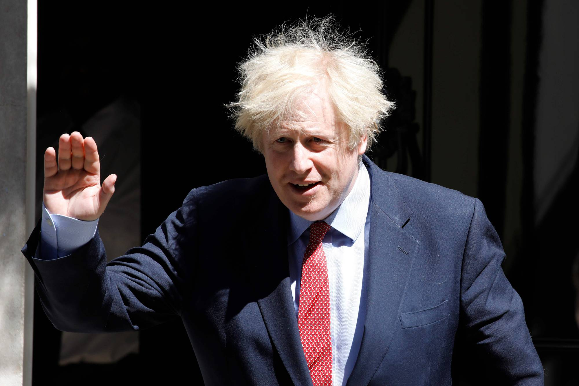 Overreliance on adviser Dominic Cummings has damaged British Prime Minister Boris Johnson at a time of crisis.  | AFP-JIJI