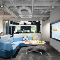 Many companies are considering how best to use their office space, as workers return to their workplaces following the end of the state of emergency. | COURTESY OF STEELCASE INC.