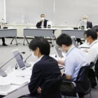 The Nuclear Regulation Authority decided the Rokkasho nuclear fuel reprocessing plant had met safety standards on May 13.   KYODO