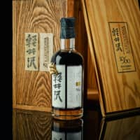 Japanese whisky is breaking records at global auction houses