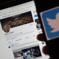 Twitter has tagged two of U.S. President Donald Trump's tweets, in which he claimed that more mail-in voting would lead to what he called a 'Rigged Election' this November, as being factually inaccurate. | AFP-JIJI
