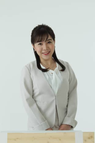 Newscaster Hanae Nojiri had been chosen, along with around 10,000 other runners, to participate in the Japanese leg of the Olympic torch relay before it was suddenly postponed two days before it was scheduled to begin. | COURTESY OF FUKUSHIMA CENTRAL TELEVISION