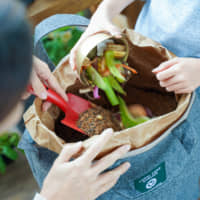 The LFC Compost can help turn kitchen waste into garden nutrients.