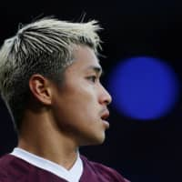 Ryotaro Meshino departs relegated Hearts as loan spell ends