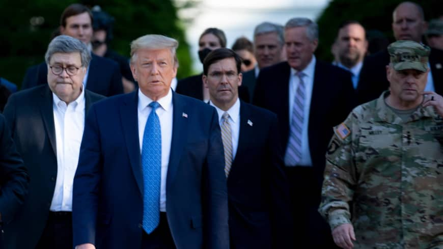 Perils for the Pentagon as Trump threatens to militarize response to civil unrest