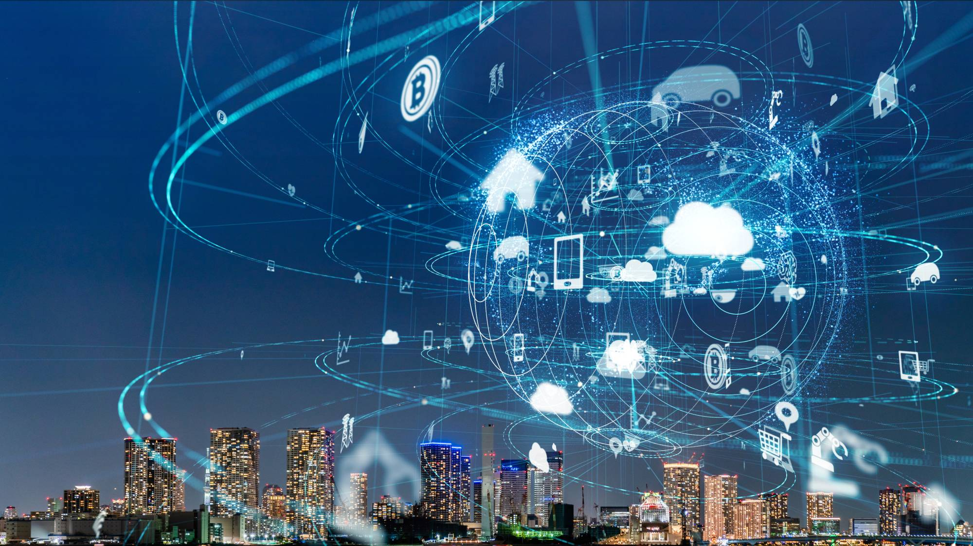 Supporters tout super cities as high-tech marvels where artificial intelligence and big data provide fast, efficient and cost-effective solutions to social problems. Opponents warn that data leaks could lead to privacy violations and a surveillance state. | GETTY IMAGES