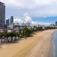 Southeast Asian tourist spots such as Pattaya, Thailand, have been hit hard as tourism has ground to a halt amid the coronavirus pandemic.  | AFP-JIJI