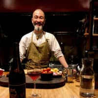 Wine and dine: Chef Shin Harakawa offers a mellow, comforting space at The Blind Donkey. | ROBBIE SWINNERTON
