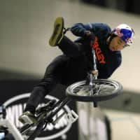 Rim Nakamura is one of four BMX riders chosen for Japan's Olympic squad. | KYODO