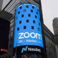 Zoom has found itself in the middle of a clash between free speech and government censorship that has confronted other U.S.-based technology companies doing business with China.  | AP