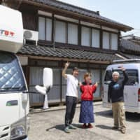 Japan's 'campervangelist' extolls the benefits of life on the road