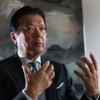 Yoshihisa Kainuma, chief executive officer of Minebea Mitsumi Inc., is interviewed in Tokyo. | BLOOMBERG