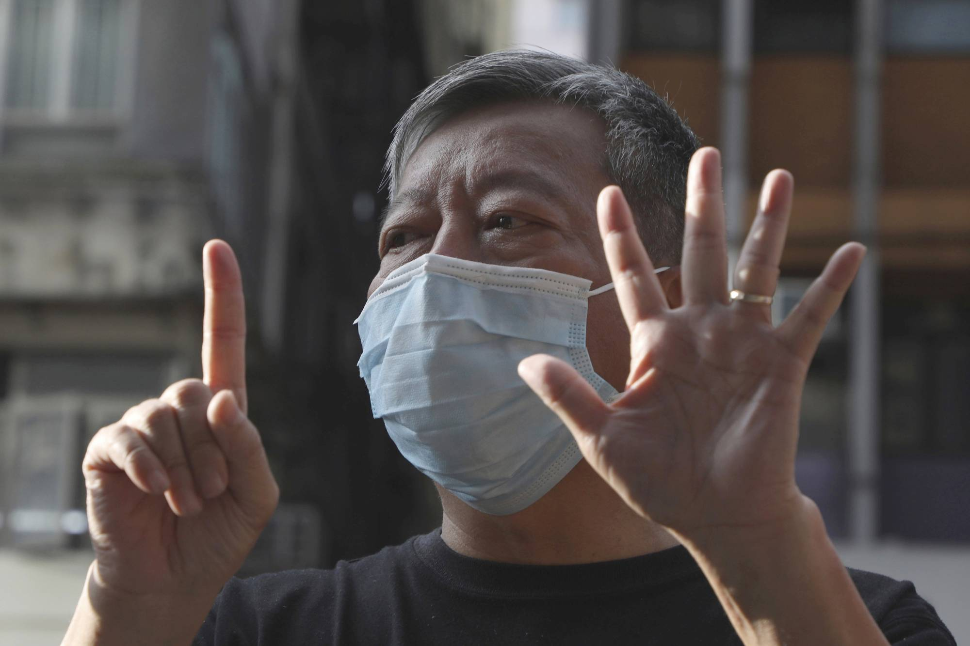 Prominent Hong Kong activist Lee Cheuk Yan reported that his Zoom account shut down in May before he was to host an event on a controversial extradition bill, despite the city's guarantees of free speech. | AP