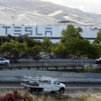 Tesla's primary vehicle factory in Fremont, California | REUTERS
