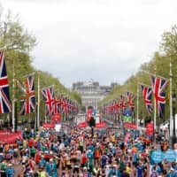 A decision on the fate of this year's London Marathon, which has already been postponed from April to October will be made on Sunday. | REUTERS