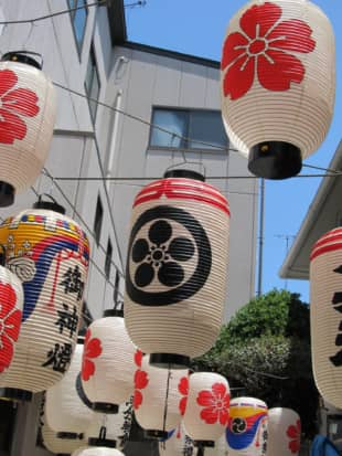 Takahashi Chochin, a nearly 300-year-old paper lantern maker based in Kyoto, has been producing the chochin lanterns used in the Gion Festival. | COURTESY OF TAKAHASHI CHOCHIN