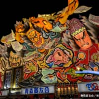 The Aomori Nebuta Festival features spectacular giant floats paraded through the city of Aomori and gathers around 2.8 million visitors to the capital of the northern prefecture each year. | COURTESY OF THE AOMORI TOURISM AND CONVENTION ASSOCIATION