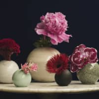 Budding: One Flowerware's collection lets you showcase single blossoms in vases designed by one of eight artisan studios. | YUDAI KUSANO