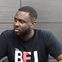 Man on a mission: Laranzo Dacres started his YouTube channel The Black Experience Japan to highlight the real-life experiences of black people living in Japan. |