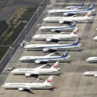 Several chartered flights carrying about 440 businesspeople are scheduled to fly from Japan to Vietnam from Thursday through Saturday, Foreign Minister Toshimitsu Motegi said at a news conference Tuesday. | KYODO