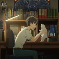 Fuzzy feelings: Mirai Shida voices a young girl who discovers the ability to shapeshift into a cat and uses the opportunity to get cozy with a crush in 'A Whisker Away.' | ©️ MUGE PRODUCTION COMMITTEE