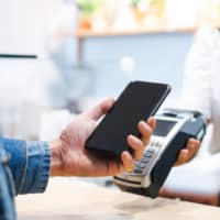 Cashless payment methods accounted for 26.8 percent of household spending in Japan in 2019, according to government data. | GETTY IMAGES