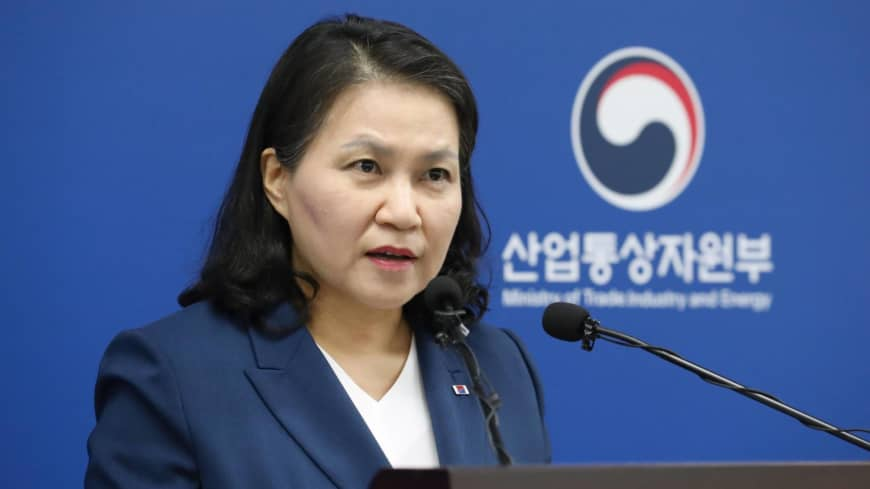 South Korea's first female trade minister bids for top WTO job