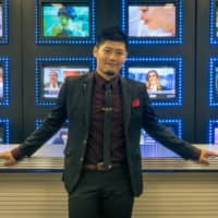 That's show biz: Saku Yanagawa aspires to become the first-ever Japanese cast member of Saturday Night Live.    OSCAR BOYD