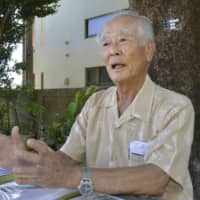 Witness to Battle of Okinawa awaits rebuilding of castle of peace