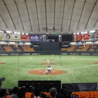 Nippon Professional Baseball started its 2020 regular season on June 19, initially holding its games behind closed doors.   KYODO