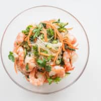 Just chillin': This glass noodle salad can be made hours in advance.  | MAKIKO ITOH
