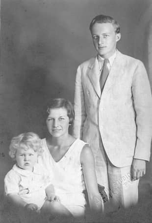 A trip to remember: The five years Bradford Smith (right) spent teaching and living in Japan with his family had a huge influence on his writing.  | COURTESY OF BRADFORD ALAN SMITH