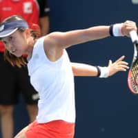 Misaki Doi, the world No. 76, admitted in an interview that she's worried about rejoining the WTA Tour as the virus continues to spread worldwide. | USA TODAY / VIA REUTERS