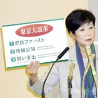 Yuriko Koike leads in Tokyo governor race, analysis finds