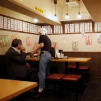 Small eating establishments in Japan have struggled with the absence of customers since the government expanded its state of emergency in April. | REUTERS