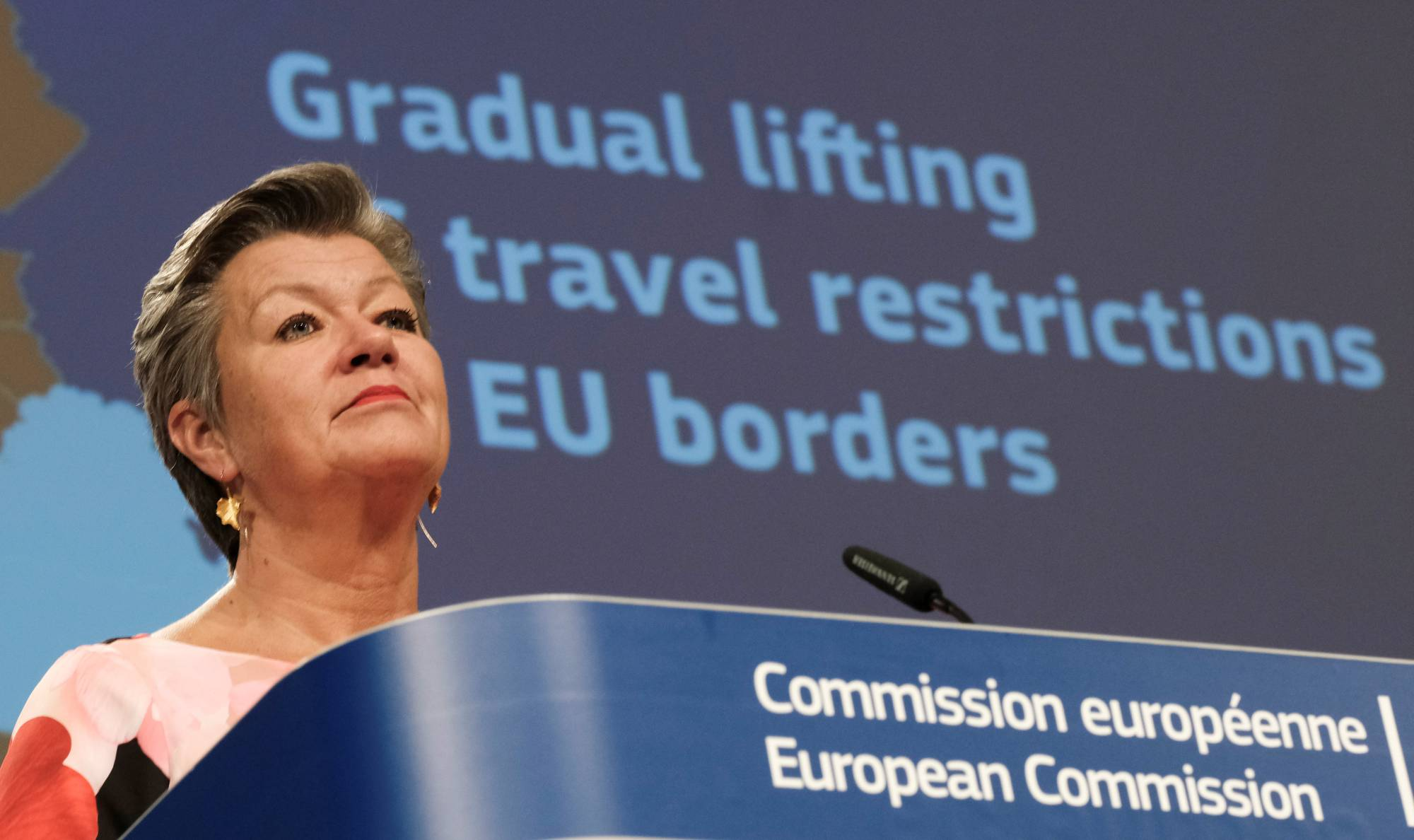 The United States hasn't made the European Union's shortlist of countries whose citizens will be allowed back into Europe once it begins lifting coronavirus-linked restrictions. | REUTERS