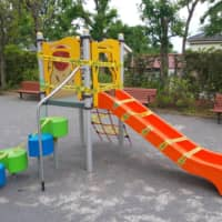 Playground love: Exploring the green among the gray