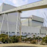 Unit 2 of the Matsuura coal-fired power station has been operated in Nagasaki Prefecture since December 2019. | KYODO